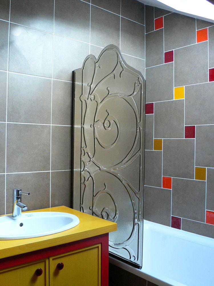Cabine de douche pare douche porte de douche - Pare douche fixe ...