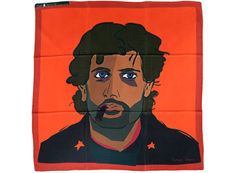 charme de coût les clients d'abord prix d'usine mari & femme | Foulards en soie d'artiste /artists'silk scarves